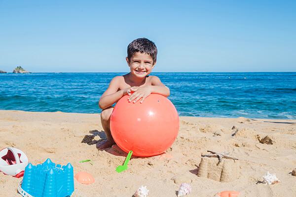 tips para ir a la playa con niños