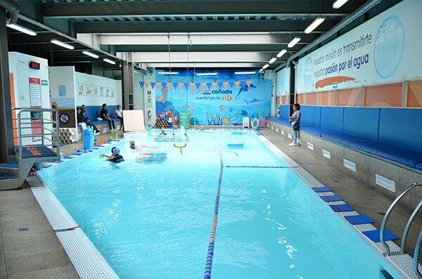 clases de natación en el DF