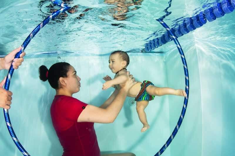 Matronatación para bebés