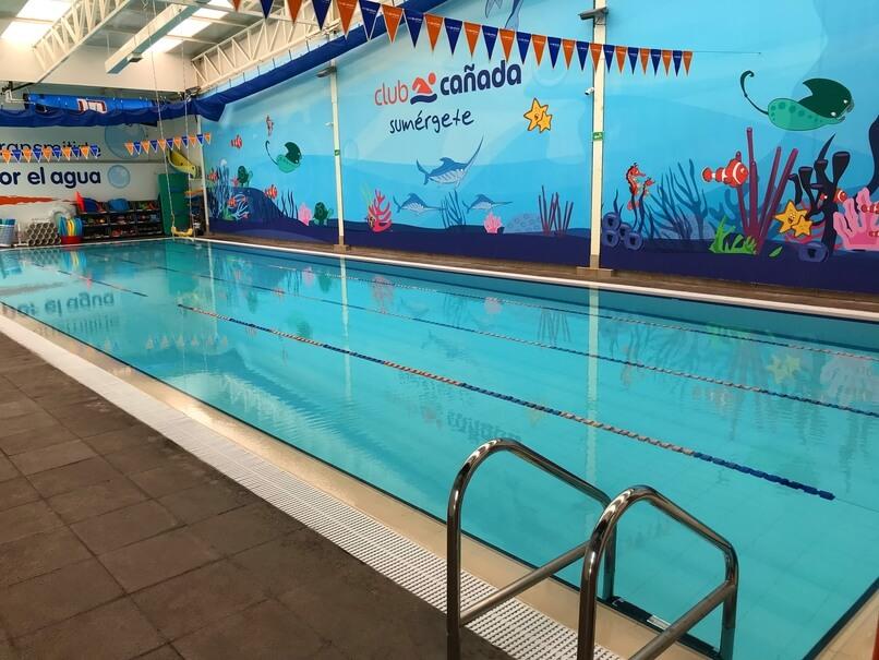Una escuela de natación