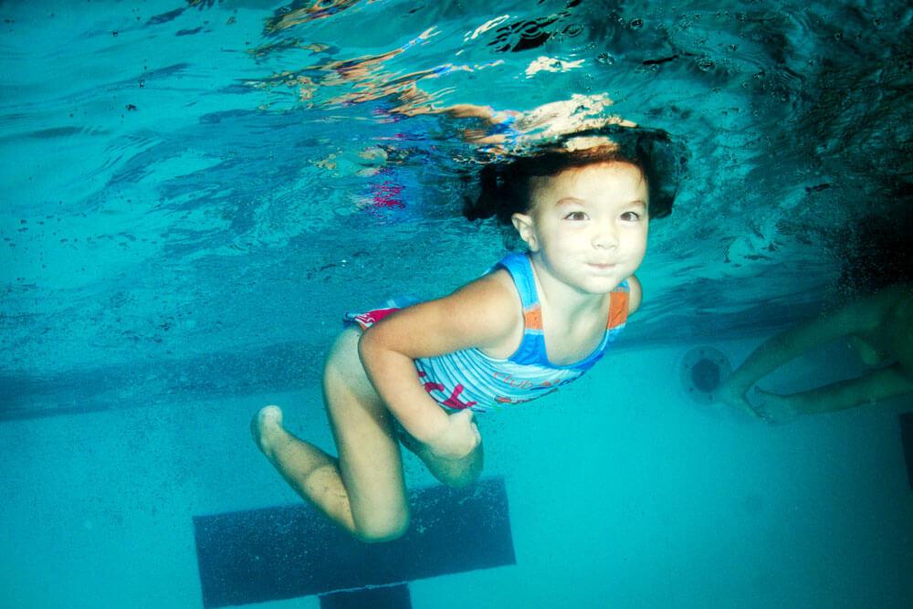 aprender a nadar club cañada