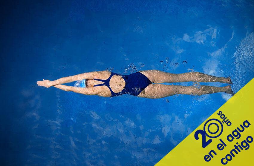 Escuela de natación: 20 años