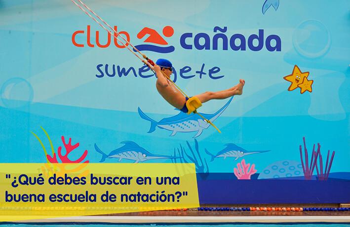 escuela de natacion_club cañada