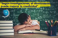 Beneficios del aburrimiento en los niños