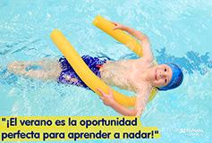 Curso de verano de natación