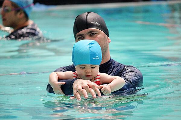 La mejor edad para nadar